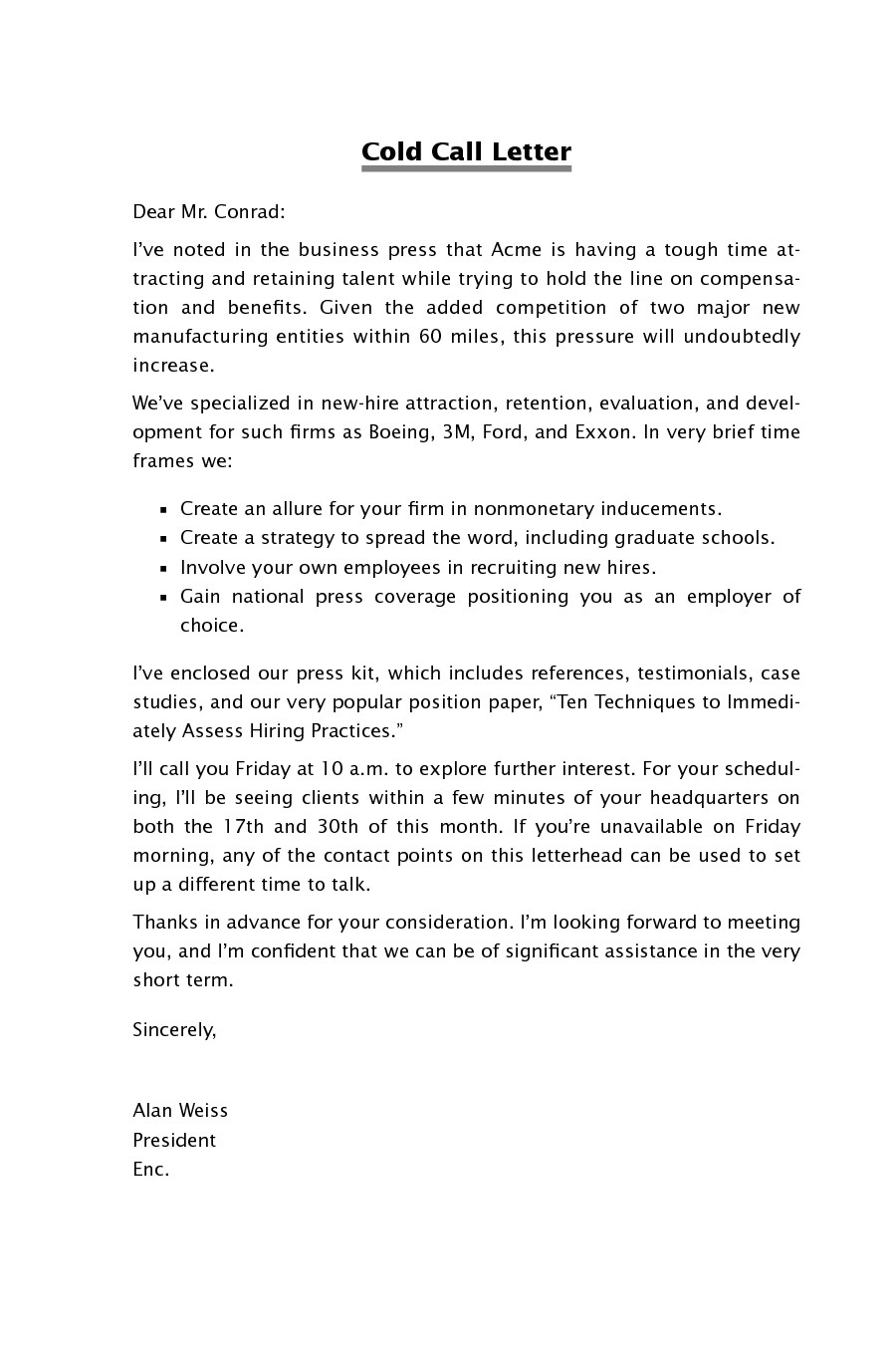 cold call cover letter 329