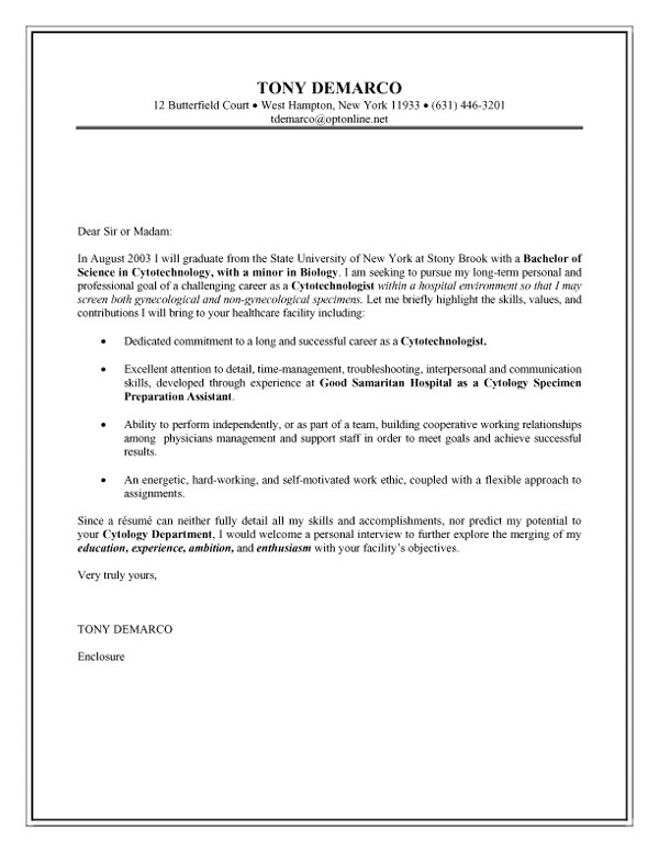 cold contact cover letter
