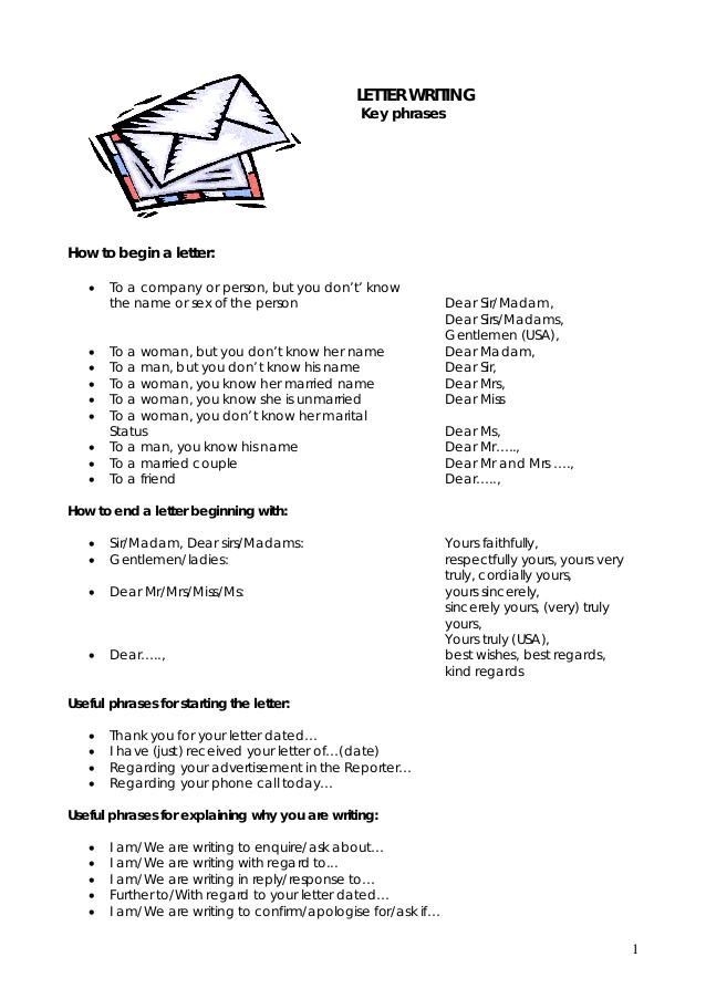 Writing A Cover Letter to A Company Business English How to Write Cover Letters