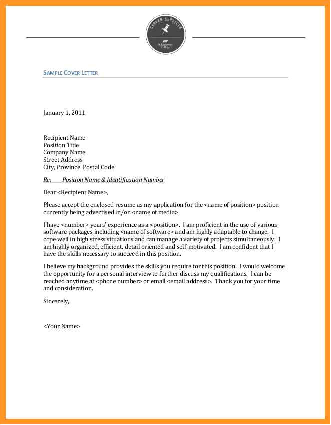 Writing A Cover Letter to A Company Cover Letter without Company Address Bio Letter format