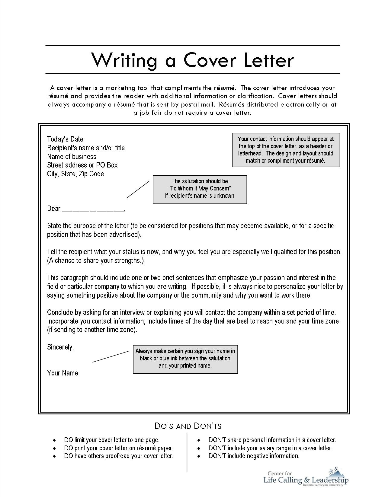write a letter online and print it