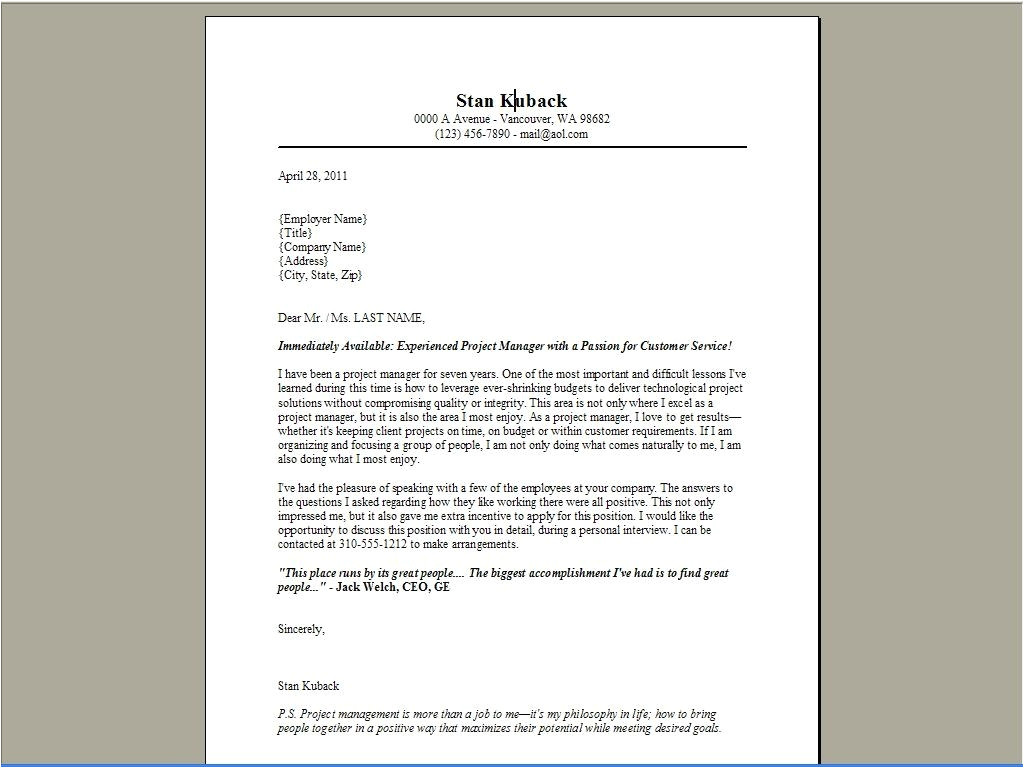 amazing cover letter examples 3233