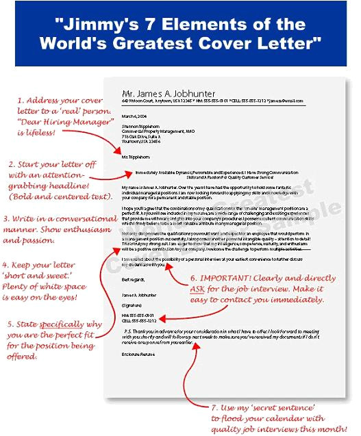 Writing An Amazing Cover Letter Amazing Cover Letter Sample
