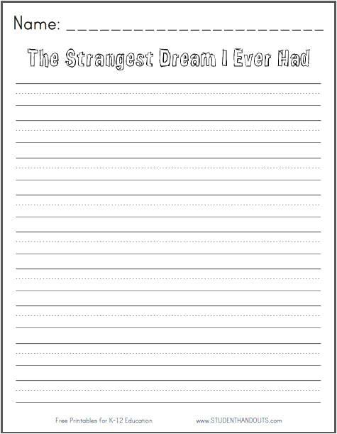 post free printable writing prompts 189543