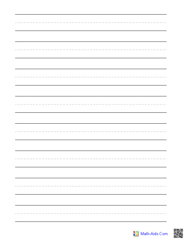 post for 3rd grade printable lined paper 190779