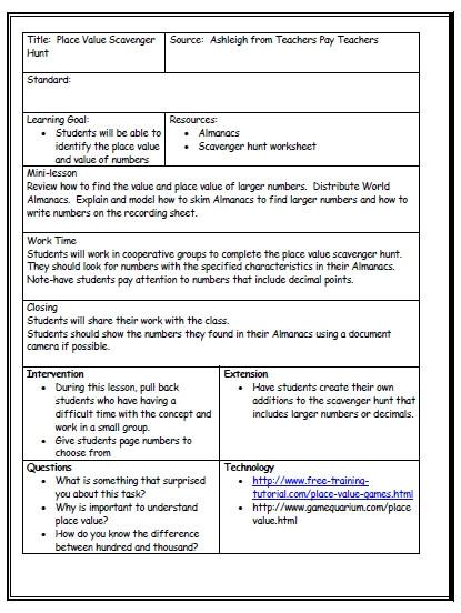 writing lesson plan template workshop mini lesson template 821270