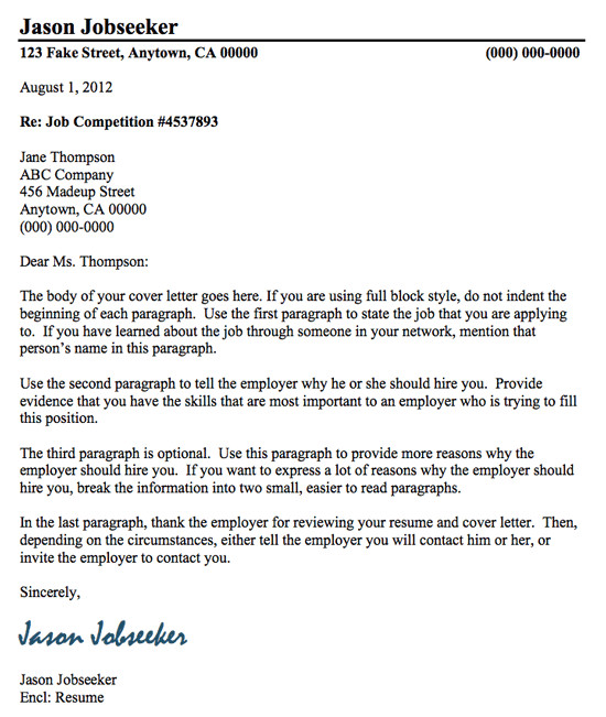 cover letter how to write a good