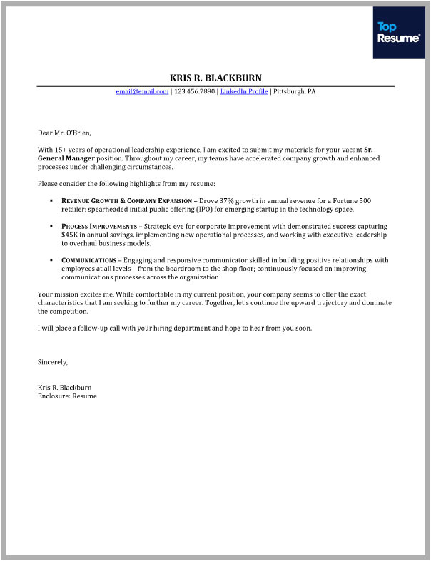 Www.cover Letter.com How to Write A Great Cover Letter topresume