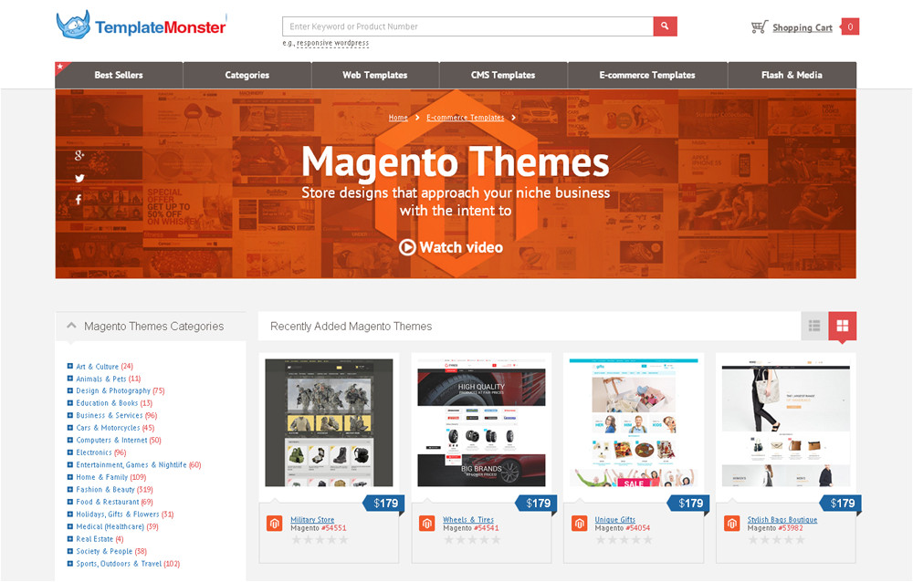 win any premium prestashop magento theme from the templatemonster collection