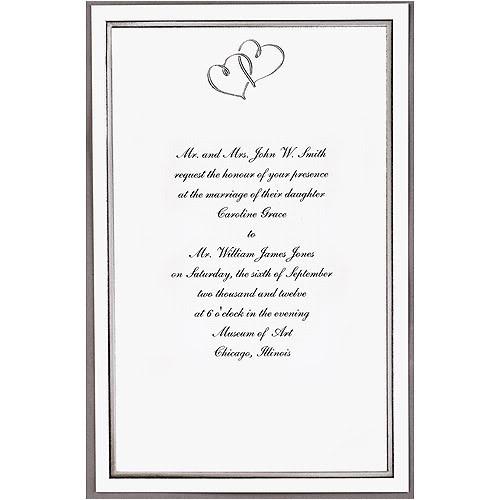 wilton wedding invitation kit template