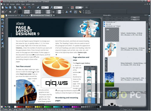xara page layout designer free download