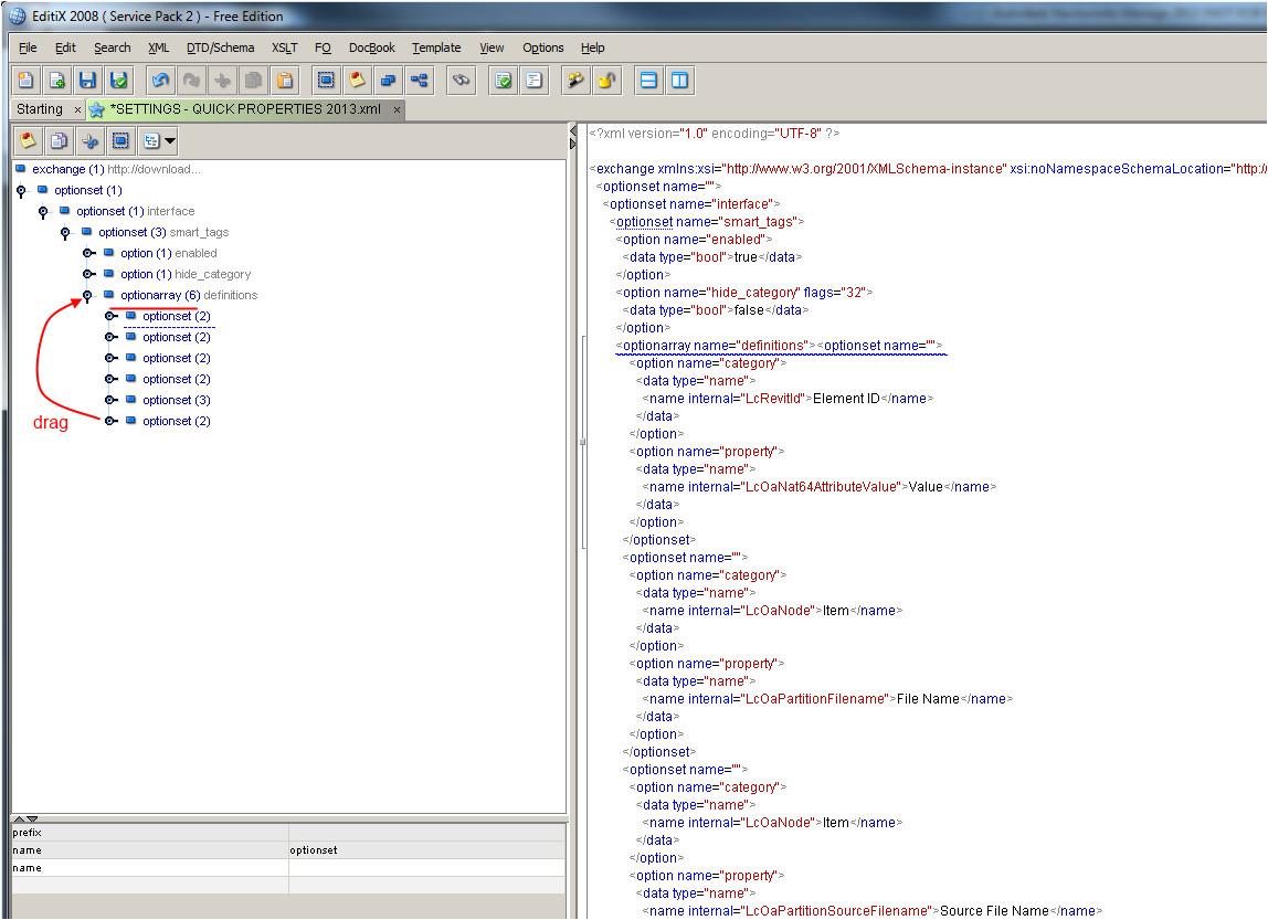 xml template editor