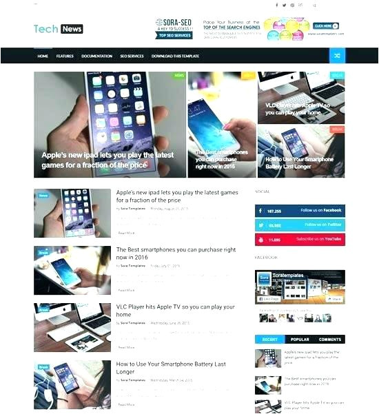 dynamic xml website templates free download flash a page 3