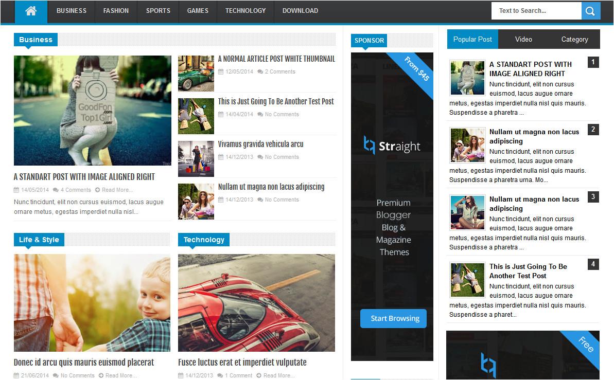 linezap high ctr magazine blogger template