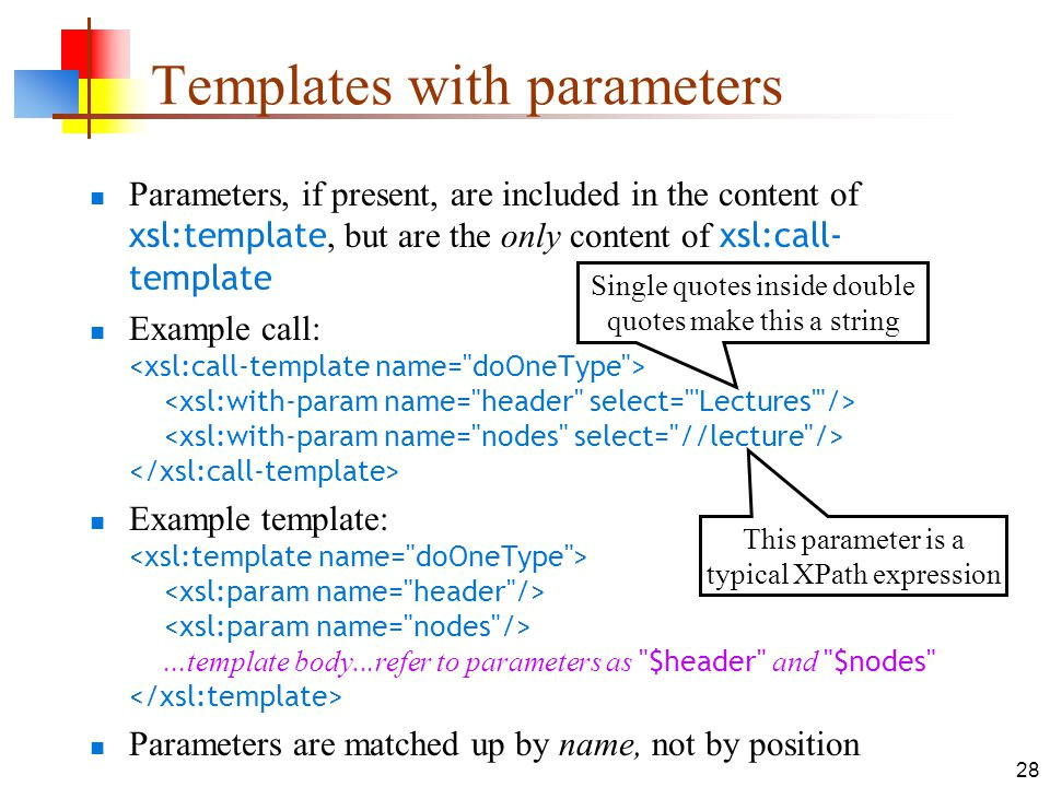 Xsl Named Template Xslt 11 Apr Ppt Download