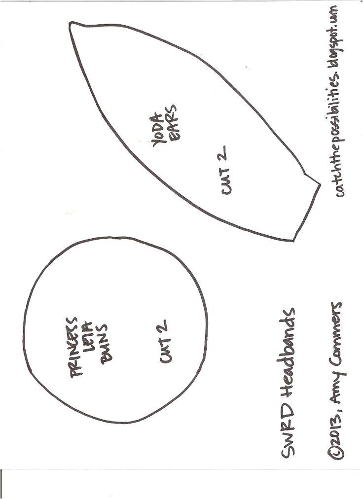 post paper yoda ear template 542765