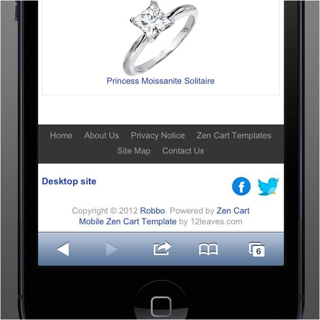 iphone zen template