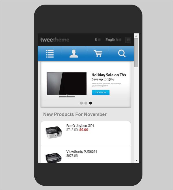Zen Cart Mobile Template Zen Cart Mobile Website Templates themes Free