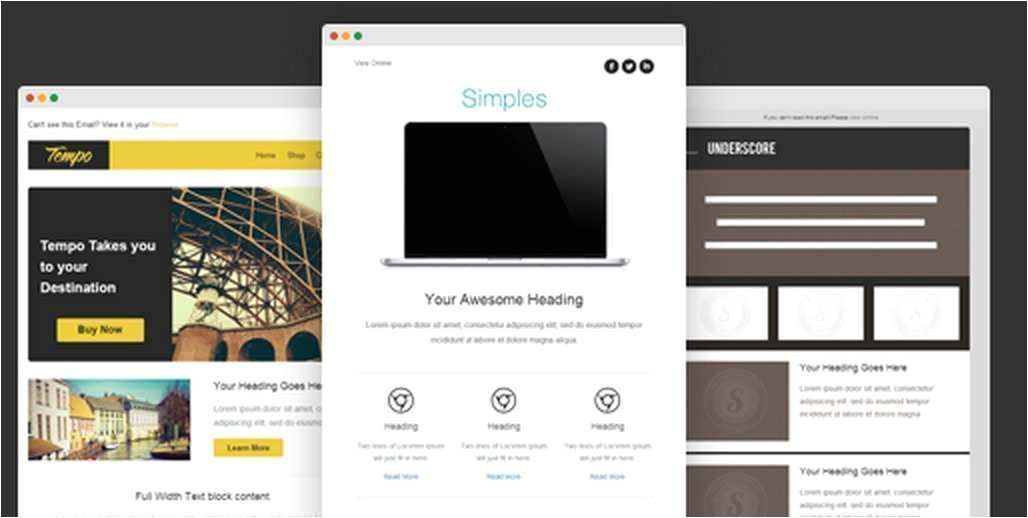 Zurb HTML Templates Zurb Foundation Email HTML Templates ifa Rennes Com