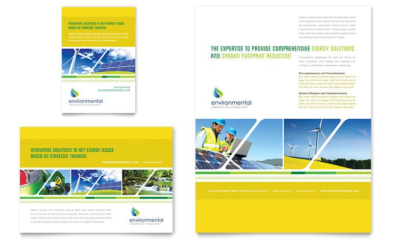 environmental conservation flyer ad templates ut0030701d