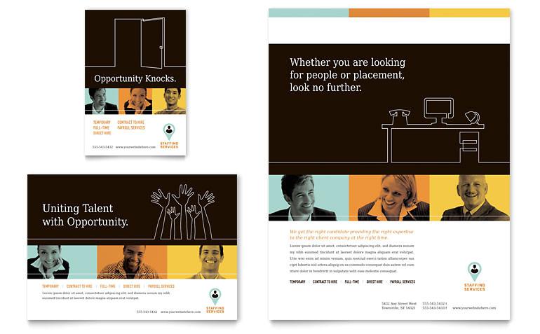 recruiter flyer ad templates pn0230701d
