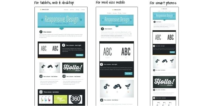 tutorial for creating a custom email template in web templates design two column 2