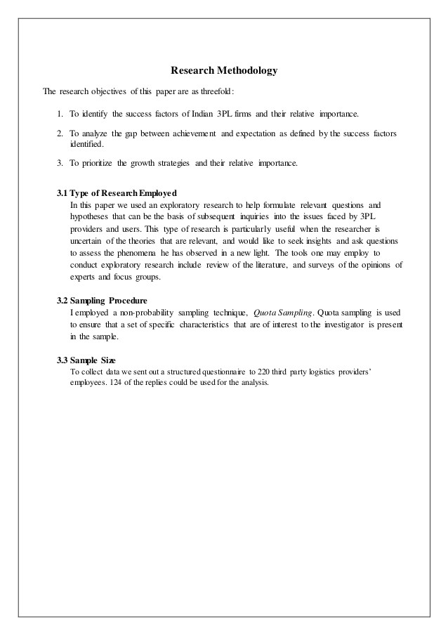 3pl Contract Template Project Report On 3rd Party Logistics