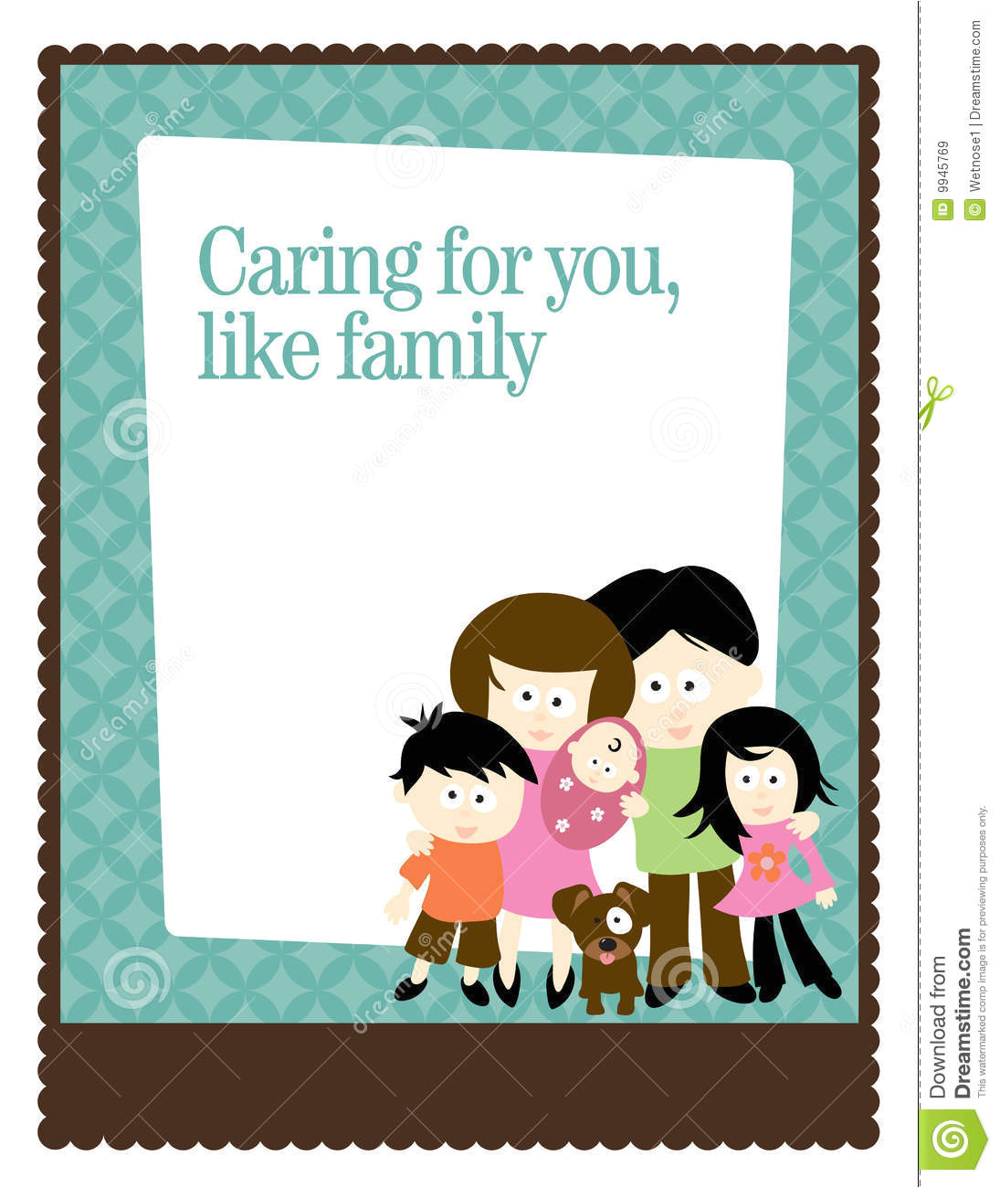 royalty free stock images 8 5x11 flyer poster template family image9945769