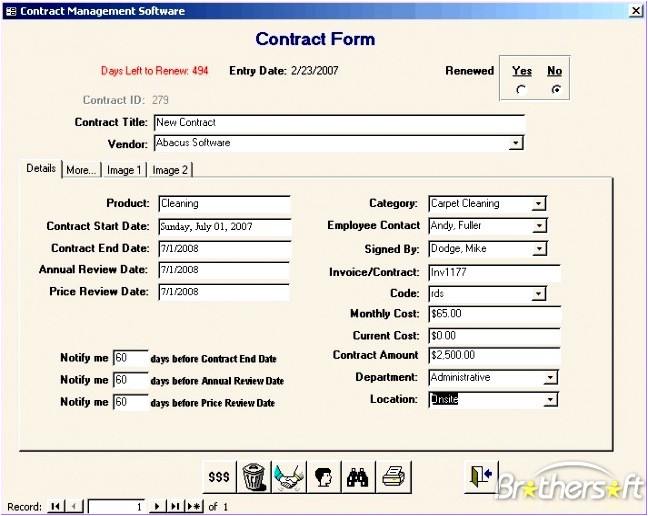 free excel crm template t8987
