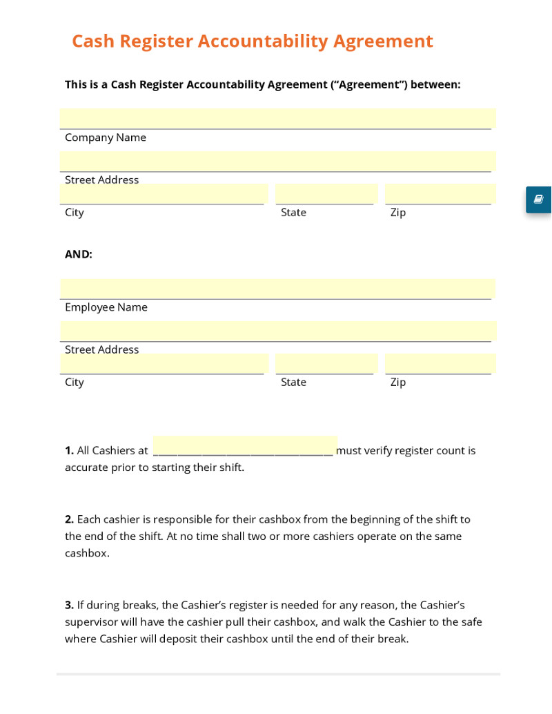 25 images of accountability form template download 2737
