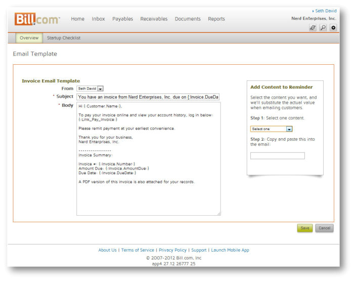 accounts payable ledger template