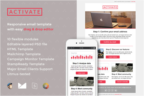 438488 activate email template builder