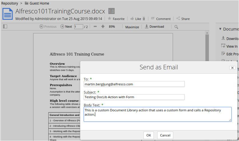 alfresco email templates wenixyna