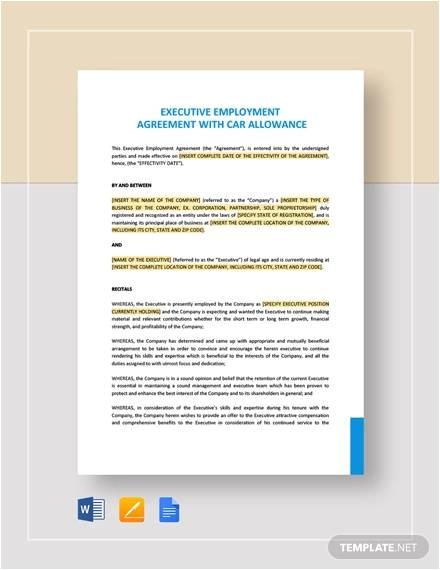 employment agreements