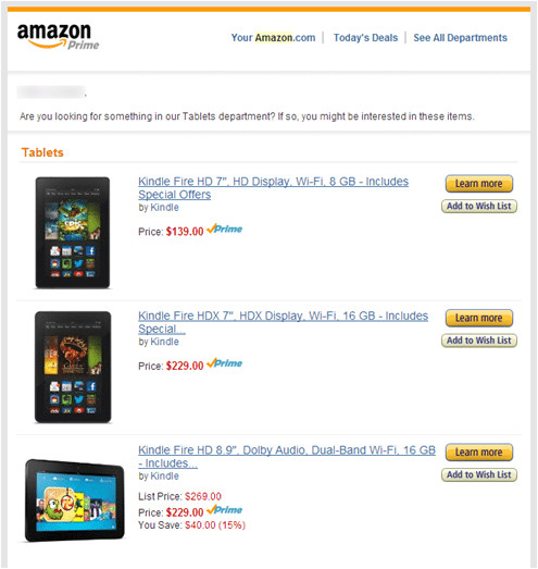 effective email marketing the amazon way