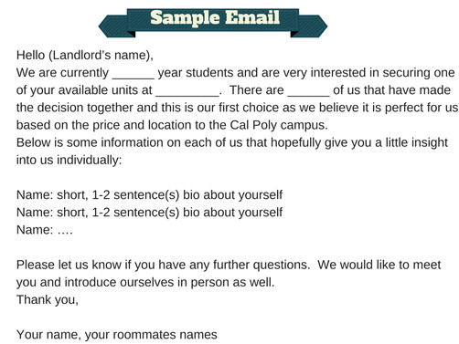 Apartment Follow Up Email Template How to Apply for An Apartment the Process Living In Slo