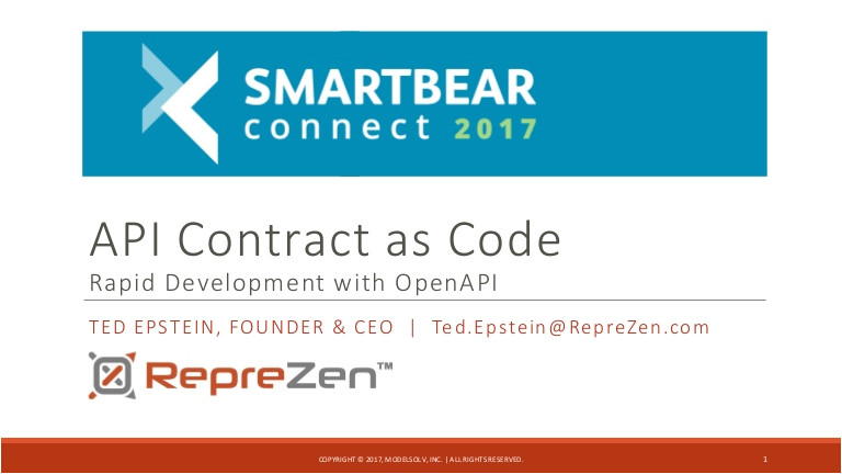 api contract as code rapid development with openapi