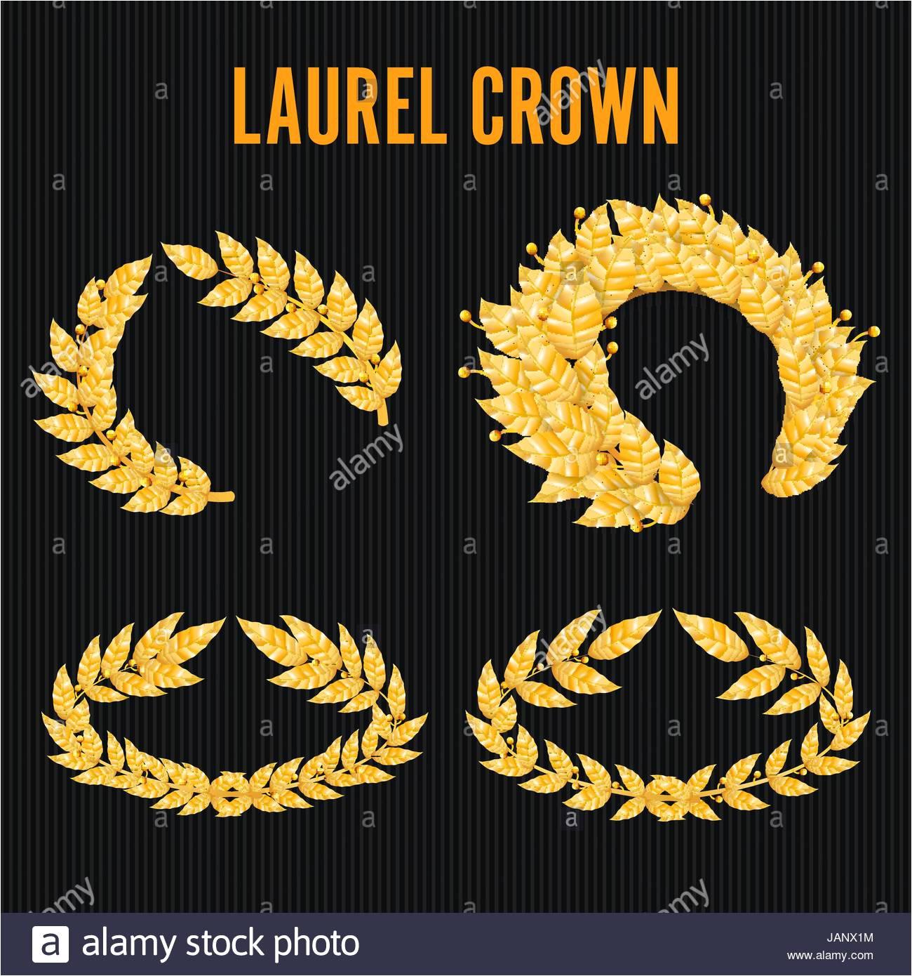 laurel leaf crown template