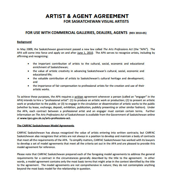 artist contract template this is how artist contract template will look like in 9 years time