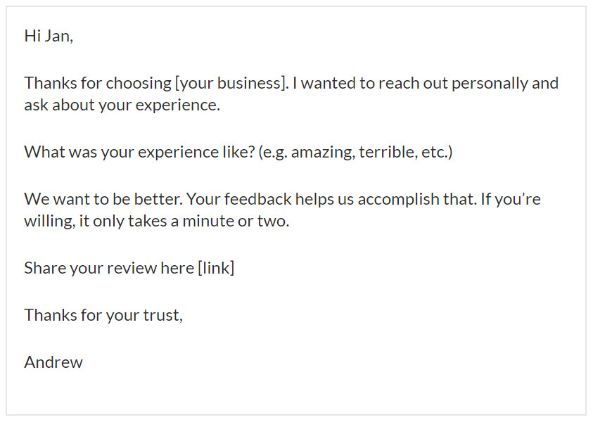 get 5 star online reviews