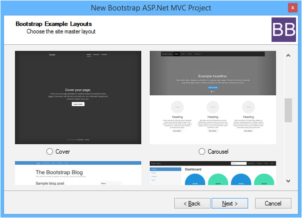introducing the bootstrap bundle for asp net mvc