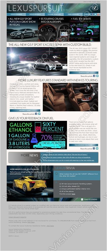 email design automotive