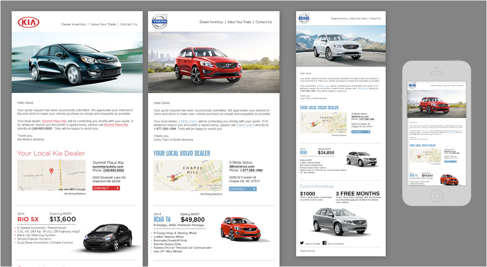 automotive crm email marketing