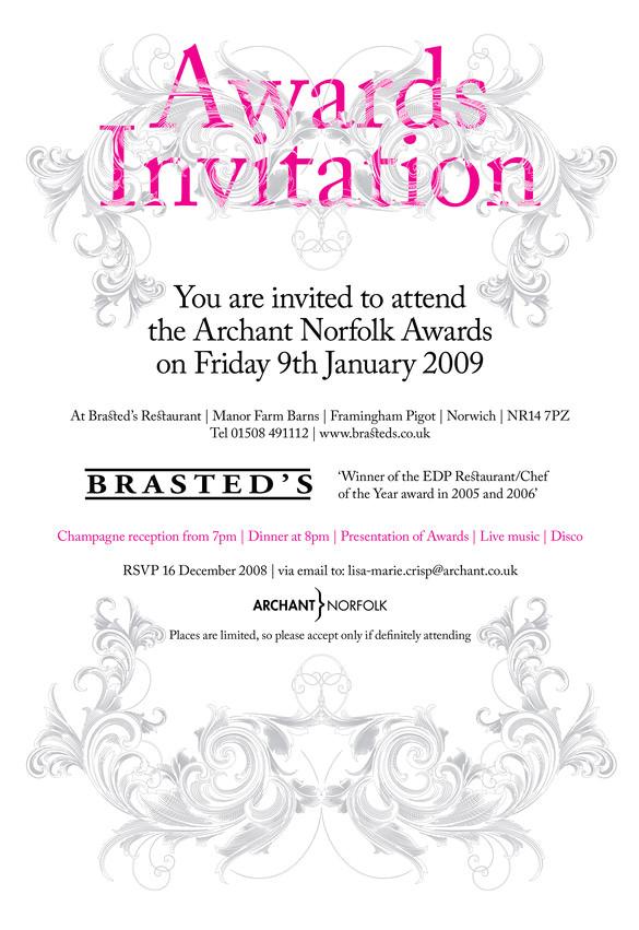 10 glorious award ceremony invitation templates