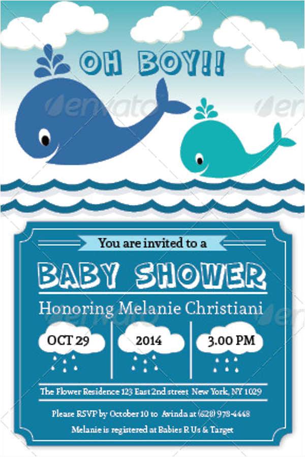 baby shower invitations design