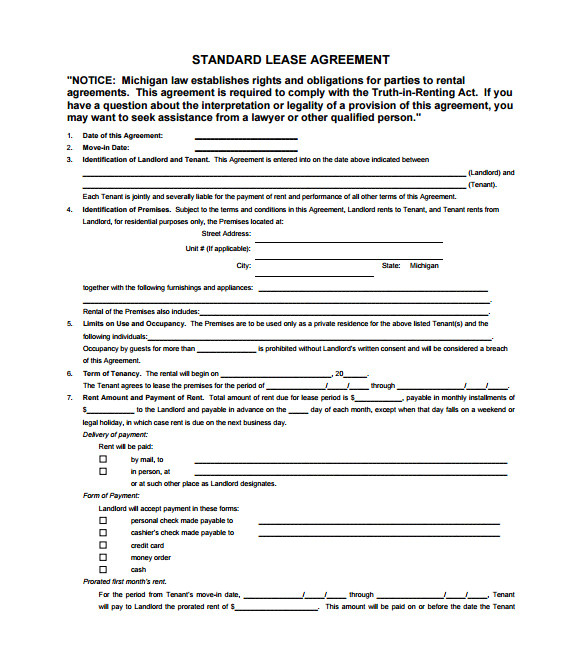Beat Lease Contract Template Pdf 11 Lease Contract Templates Free Word Pdf Documents