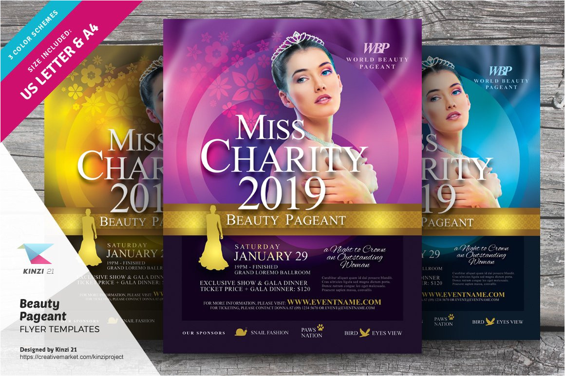 2139108 beauty pageant flyer templates