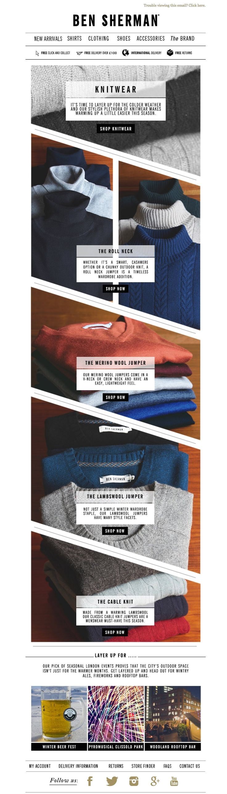 25 excellent ecommerce email templates examples to inspire your next campaign