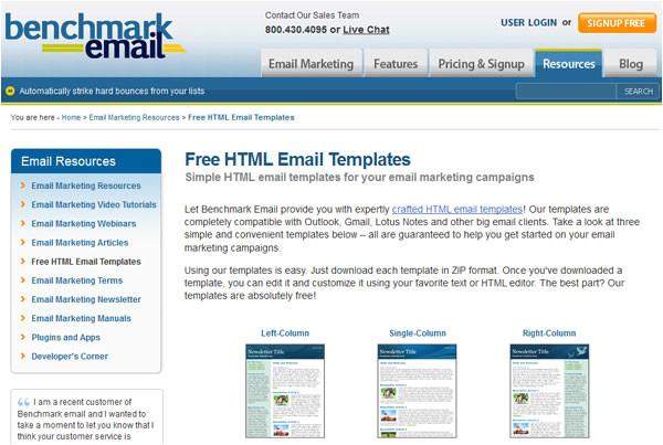 10 best newsletter templates resources