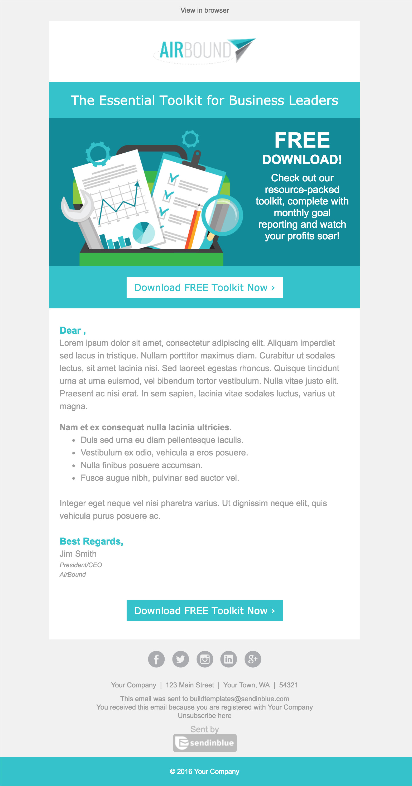 Best B2b Email Templates top 8 B2b Email Templates for Marketers In 2017